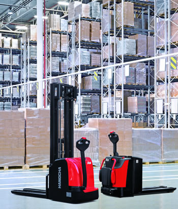 Forklift Dealer Support - Pallet Stacker