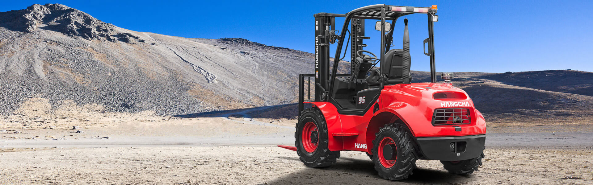 Rough Terrain 2.5 – 3.5t Diesel Hangcha Trucks