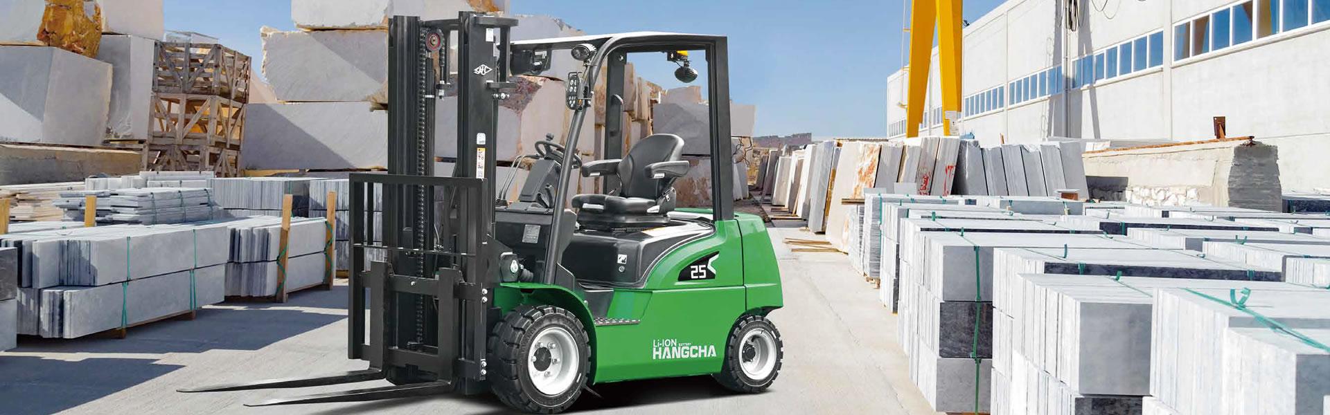 Rough Terrain – 2.5 – 3.5t 4WD Diesel Forklift Hangcha Trucks