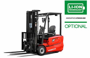 A-Series Mini Range 3-wheel Electric Forklift