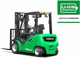 Lithium Ion Forklifts