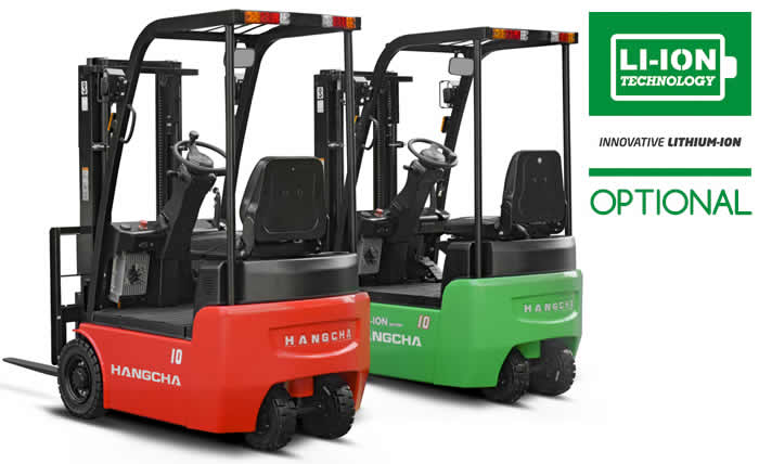 X Series 3W Electric Forklift
