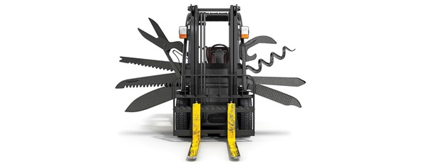 7 Most Common Forklift Attachments Explained