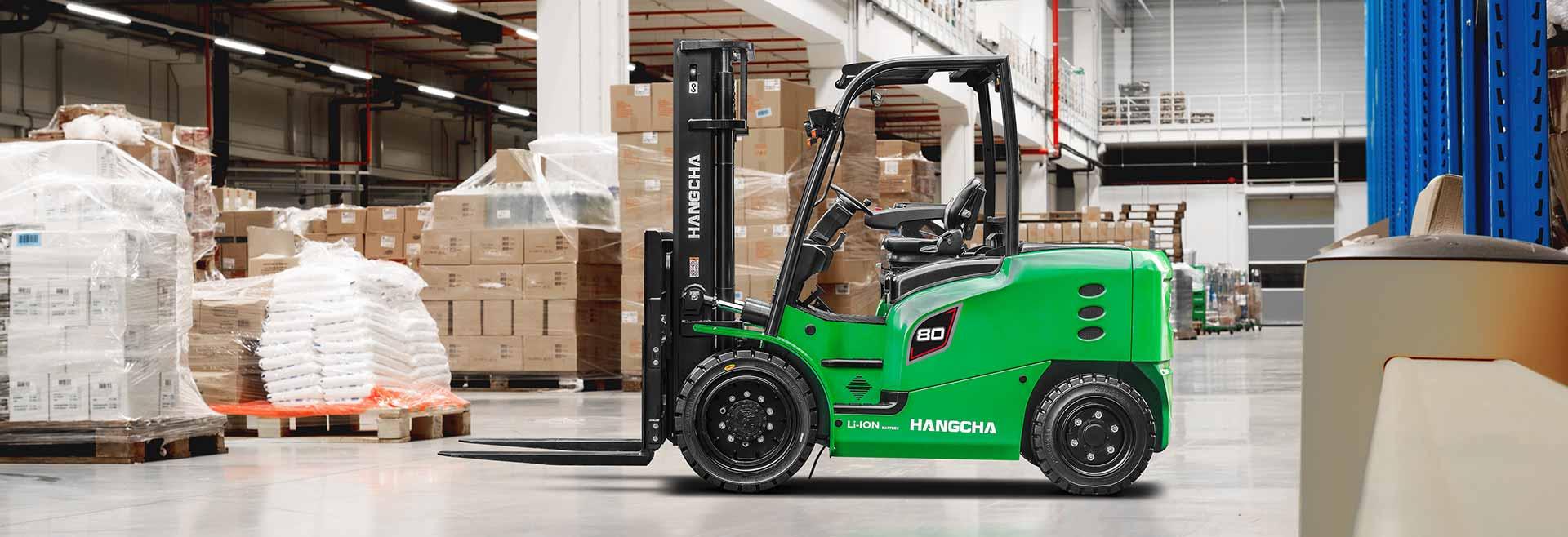 J Series 5.0 - 8.5t Hangcha Trucks